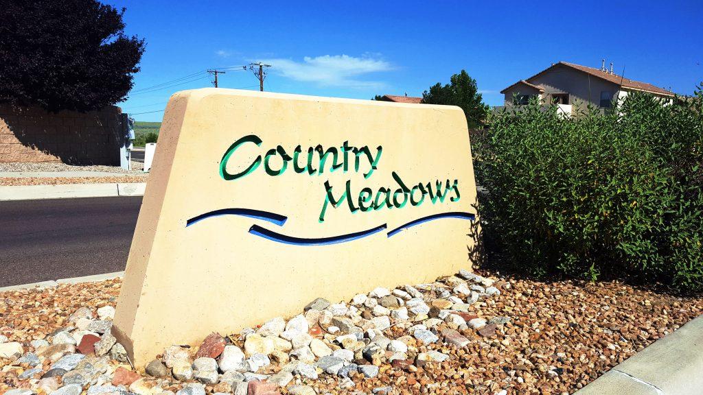 Country Meadows Neighborhood Sign