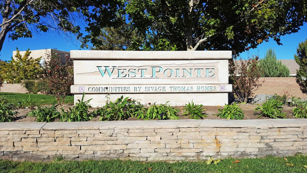 West Pointe Neighborhood Sign