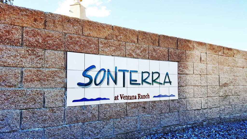 Sonterra Neighborhood Sign