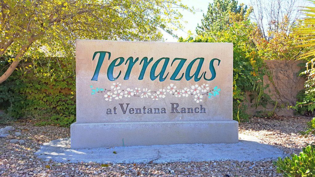 Terrazas Neighborhood Sign